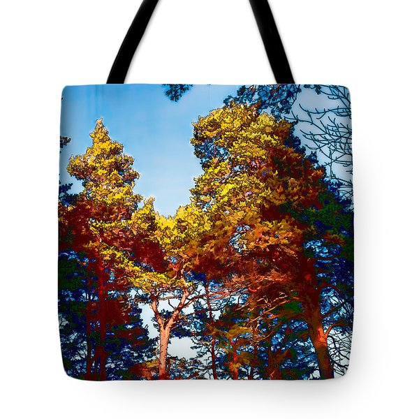 pine  Leif Sohlman Tote Bag by Leif Sohlman