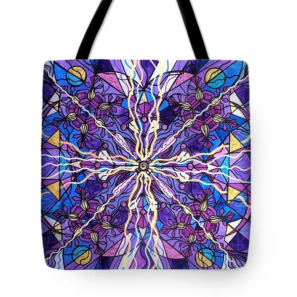 Pineal Opening Tote Bag by Teal Eye  Print Store