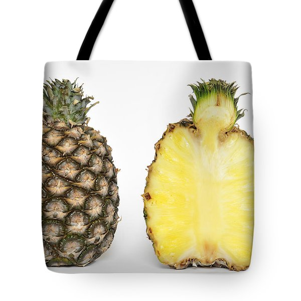 Pineapple Ananas Comosus Tote Bag by Matthias Hauser