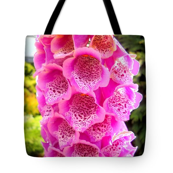 Pink-beauty Tote Bag by Basant Soni
