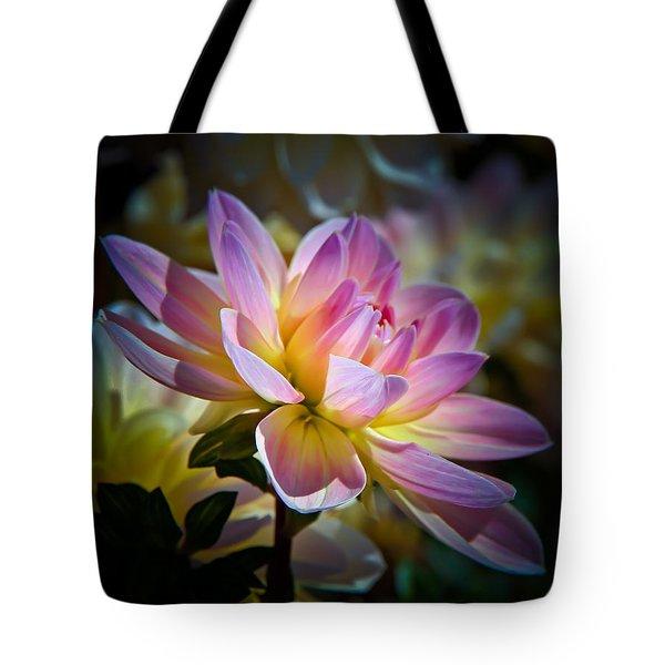 Pink Blossom  Tote Bag by Athena Mckinzie
