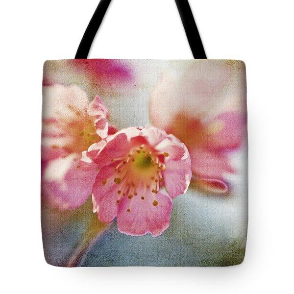 Pink Blossom Tote Bag by Scott Pellegrin
