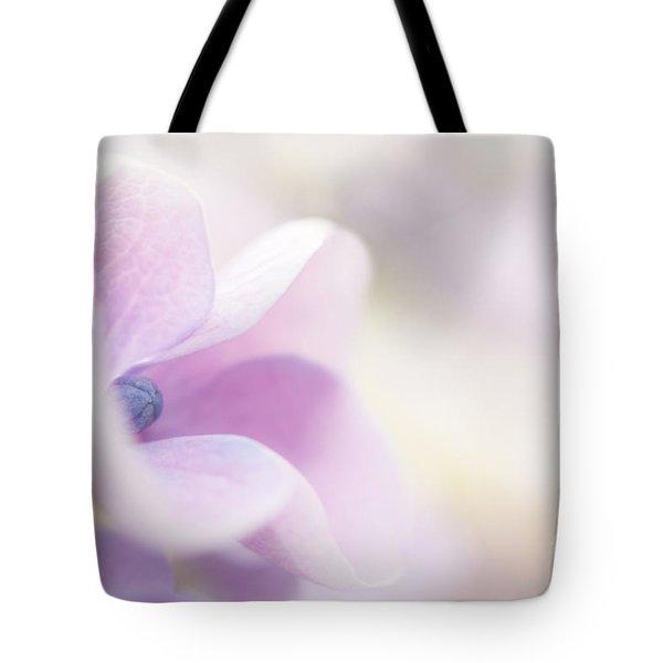 Pink Cloud Tote Bag by Anne Gilbert