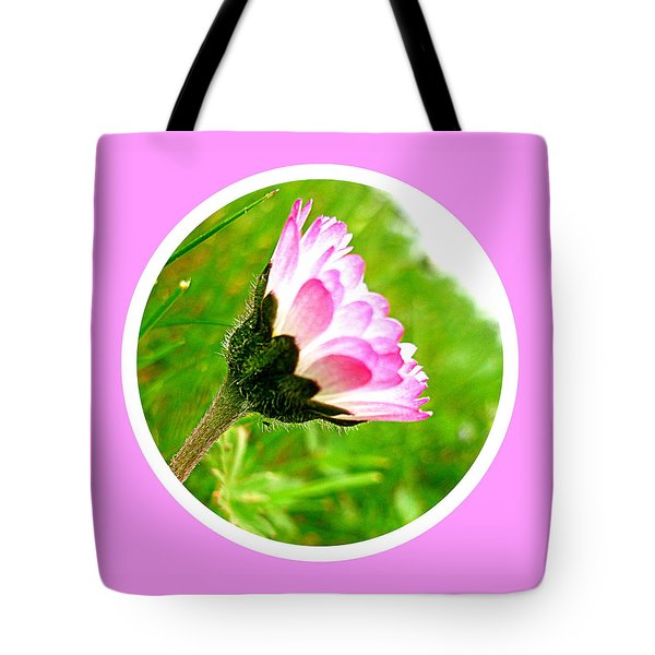 Pink Daisy  Tote Bag by The Creative Minds Art and Photography