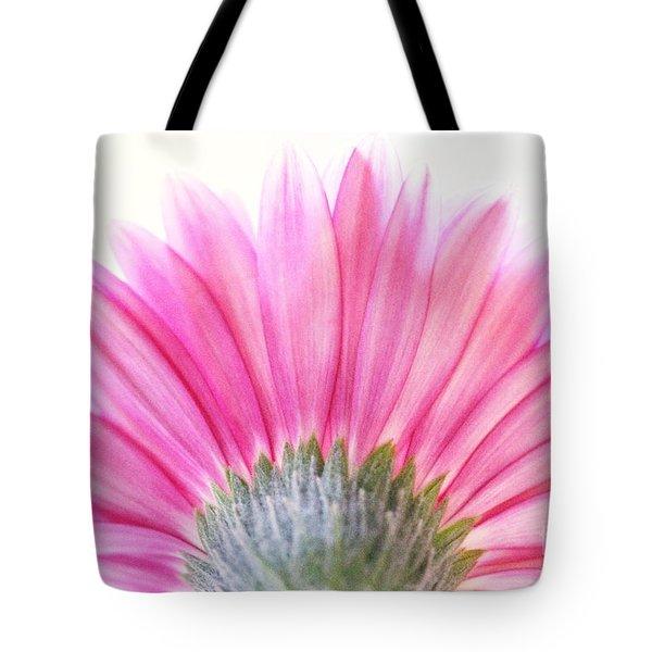 Pink Fan Tote Bag by Andrea Kollo