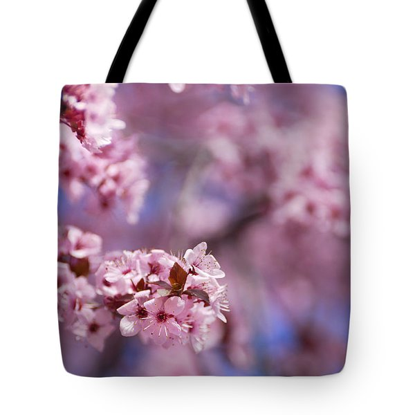 Pink Tote Bag by Guido Montanes Castillo