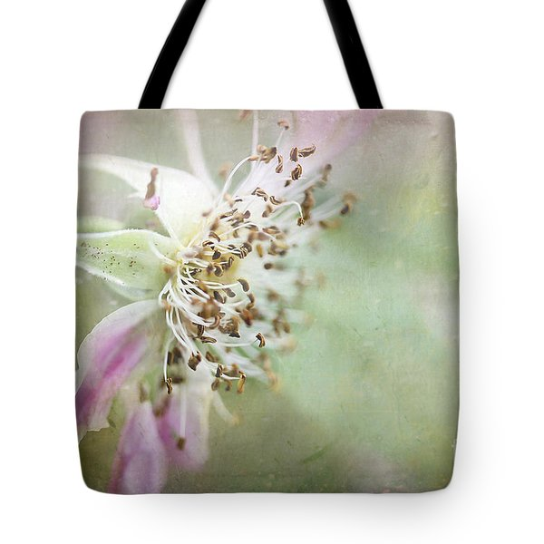 Pink Impression Tote Bag by Teresa Zieba