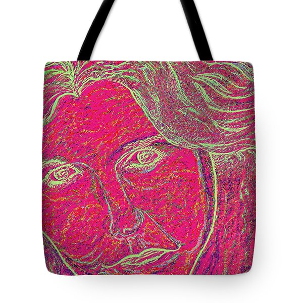 Pink Lady Tote Bag by Mark Moore