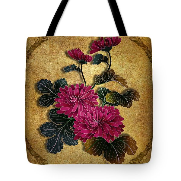 Pink Mum Tote Bag by Bedros Awak