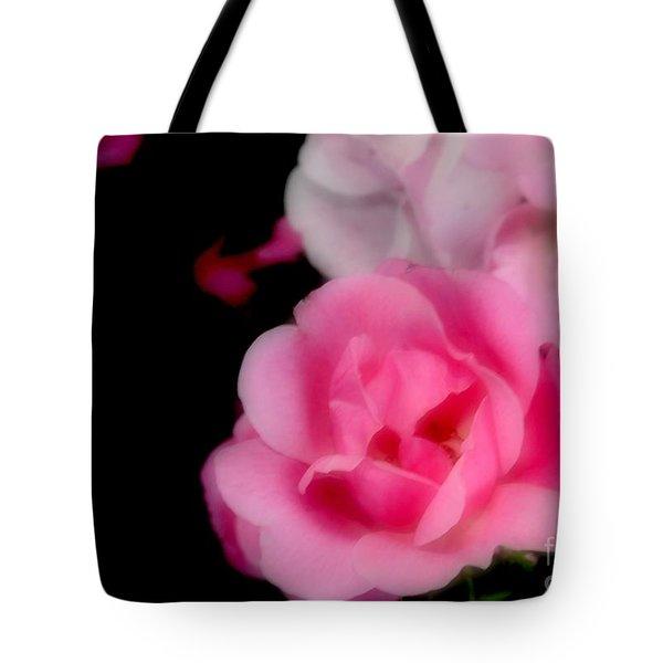Pink Roses Tote Bag by Kathleen Struckle