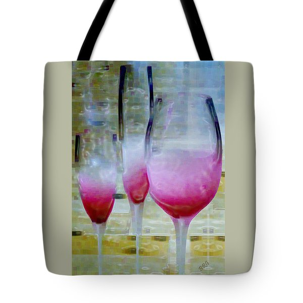 Pink Summer Tote Bag by Ben and Raisa Gertsberg