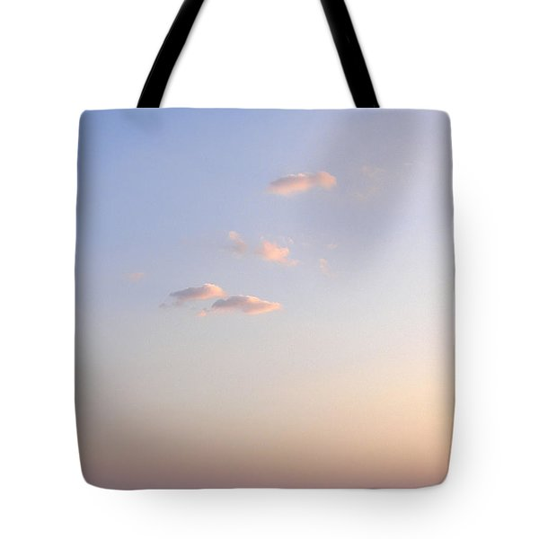 Pink Sunset Tote Bag by Zoran Berdjan