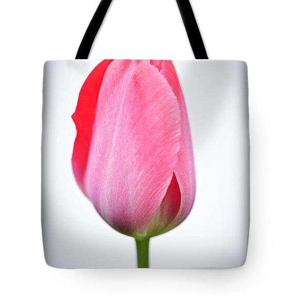 Pink Tulip Tote Bag by Elena Elisseeva