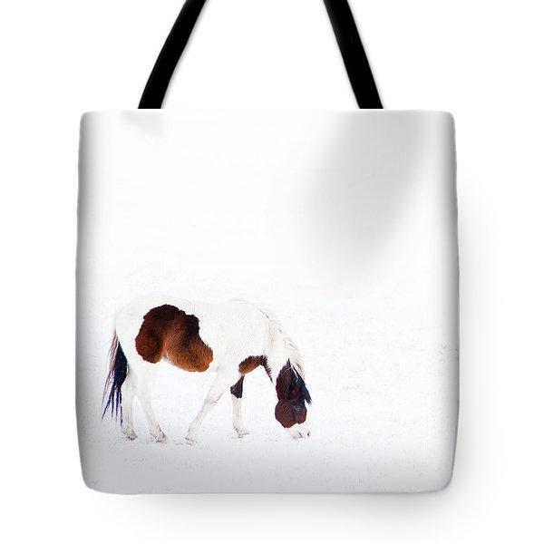 Pinto Pony Tote Bag by Theresa Tahara