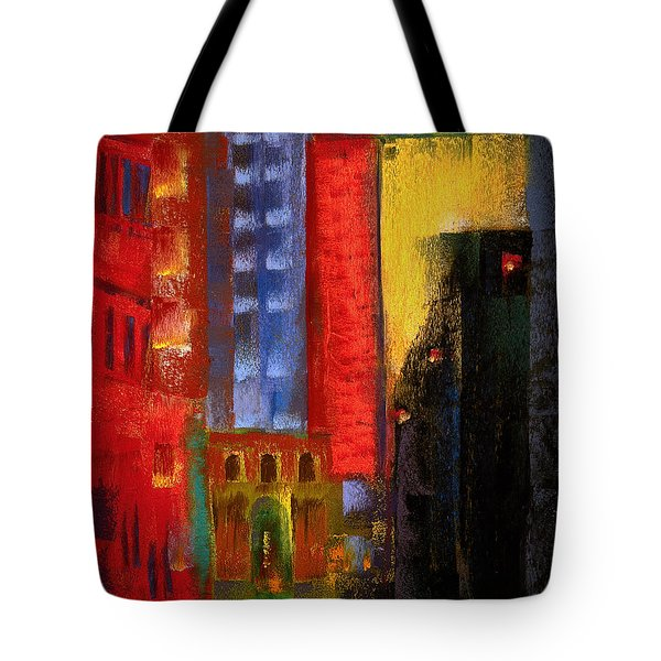 Pioneer Square Alleyway Tote Bag by David Patterson