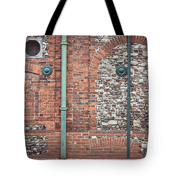 Pipes And Wall Tote Bag by Tom Gowanlock