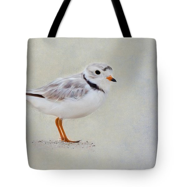 Piping Plover Tote Bag by Bill  Wakeley