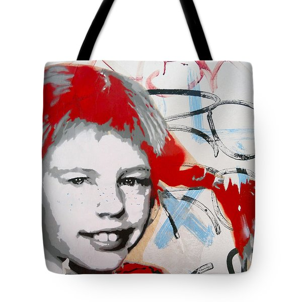 Pippi Longstocking  Tote Bag by Juergen Weiss