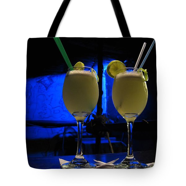 Pisco Sour In Puno Tote Bag by RicardMN Photography