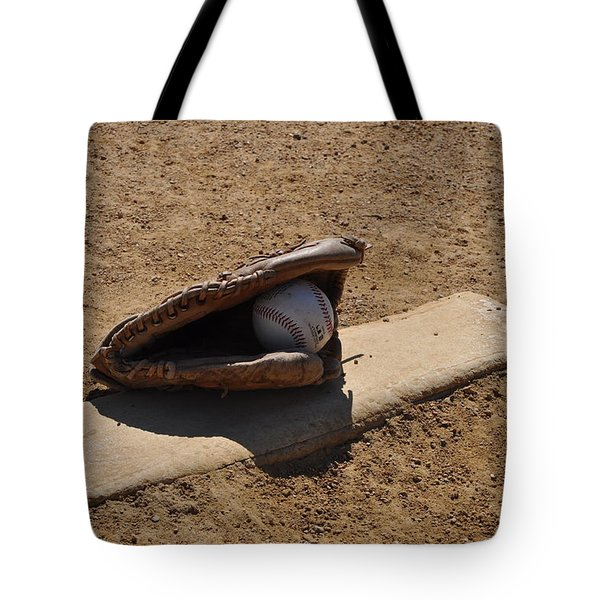 Pitchers Mound Tote Bag by Bill Cannon