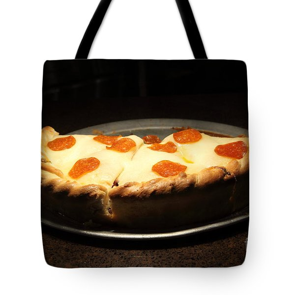 Pizza Pie - 5D20701 Tote Bag by Wingsdomain Art and Photography