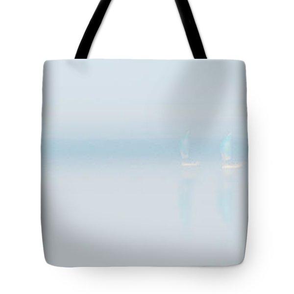 Plain Sailing Tote Bag by Janet Burdon