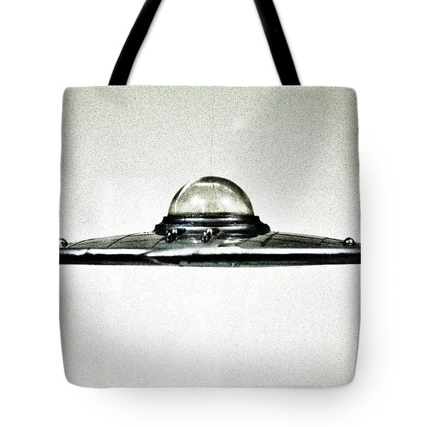 Plan 9  U F O Tote Bag by Benjamin Yeager