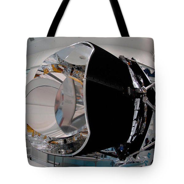 Tote Bag featuring the photograph Planck Space Observatory Before Launch by Science Source