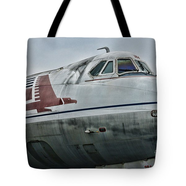 Plane Capital Airlines Tote Bag by Paul Ward