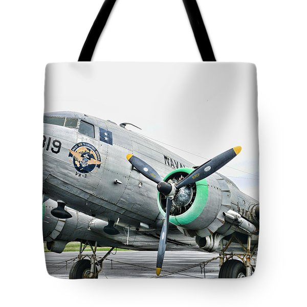 Plane Naval Air Transport Service Tote Bag by Paul Ward