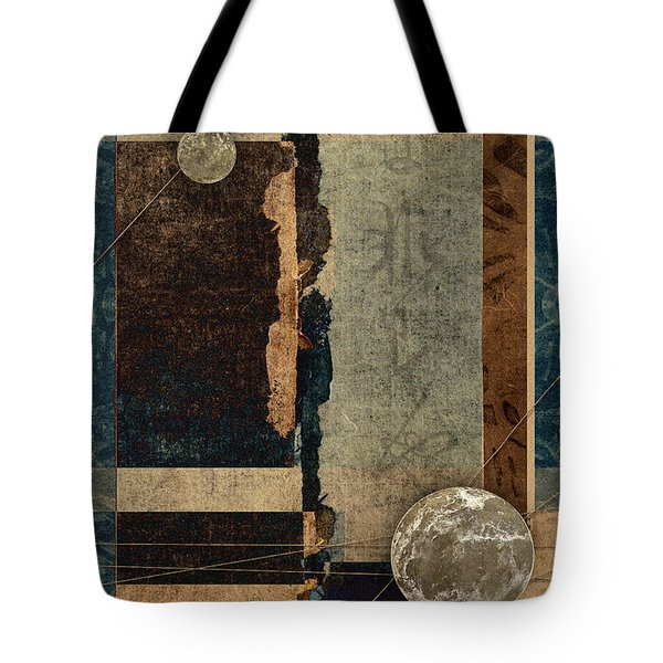 Planetary Shift #1 Tote Bag by Carol Leigh