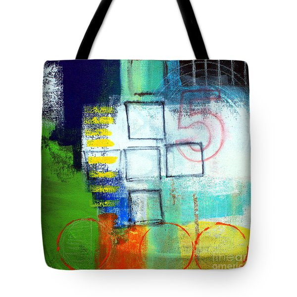 Playground Tote Bag by Linda Woods