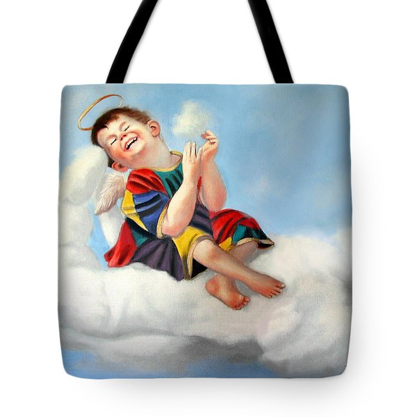 Playing On The Job Tote Bag by Anthony Falbo