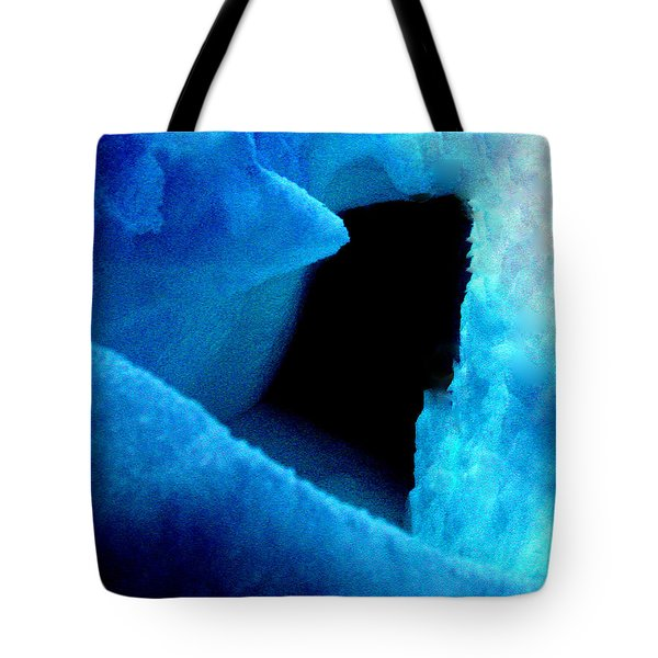 Playing With The Snow And Ice Kappl Mountain Austria Tote Bag by Colette V Hera  Guggenheim