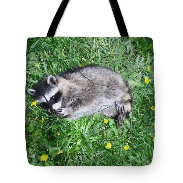 Please Dont Eat The Daisy Tote Bag by Kym Backland