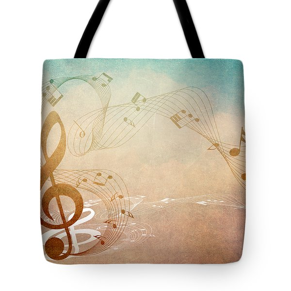 Please Dont Stop The Music Tote Bag by Angelina Vick