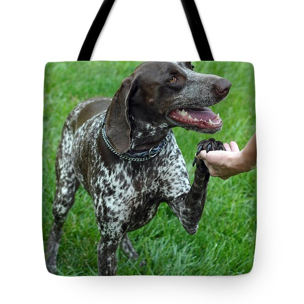 Pleased To Meet You Tote Bag by Lisa  Phillips