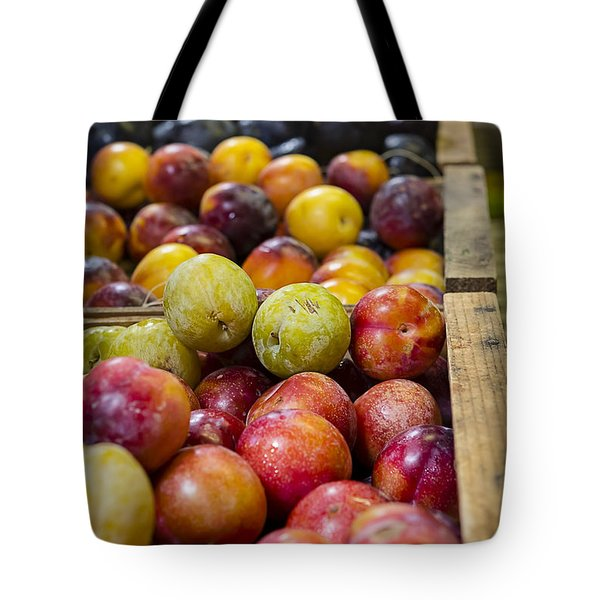 Plum Gorgeous Tote Bag by Caitlyn  Grasso