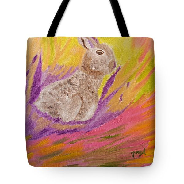 Plunge Into Your Painting Tote Bag by Meryl Goudey