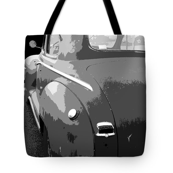Plymouth The Car Tote Bag by Ben and Raisa Gertsberg
