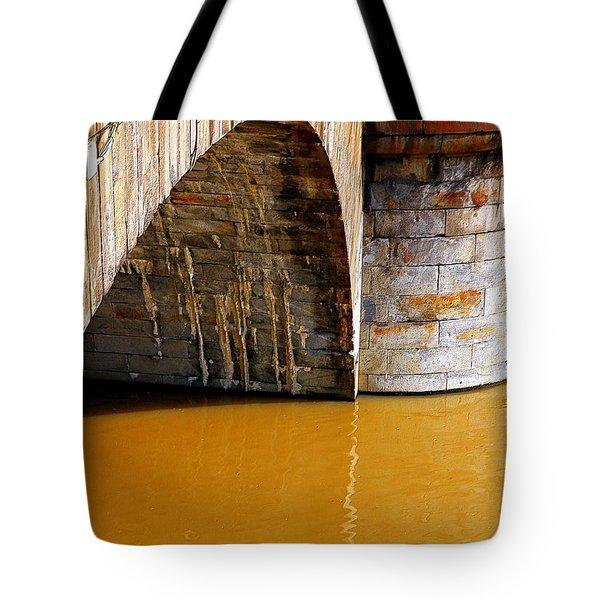 Po River Waters Tote Bag by Valentino Visentini