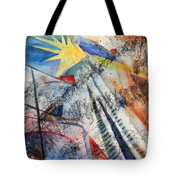 Point Of View Tote Bag by Mary Benke