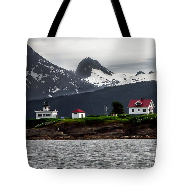 Point Retreat Tote Bag by Robert Bales
