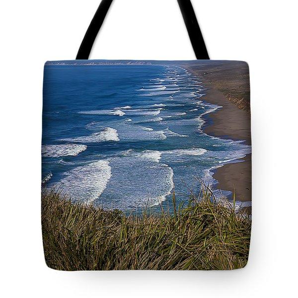 Point Reyes Beach Seashore Tote Bag by Garry Gay