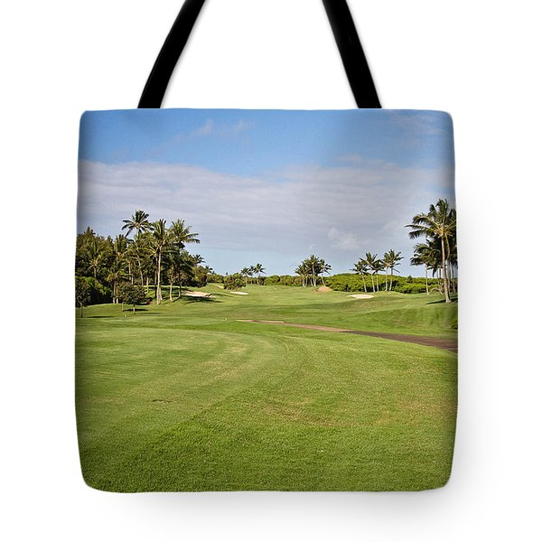 Poipu Bay #1 Tote Bag by Scott Pellegrin
