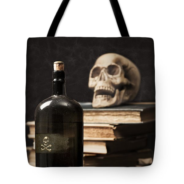 Poison Bottle Tote Bag by Amanda And Christopher Elwell