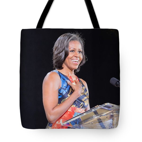 Political Ralley Tote Bag by Ava Reaves