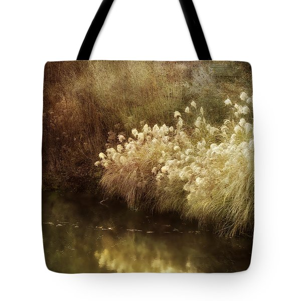 Pond's Edge Tote Bag by Julie Palencia
