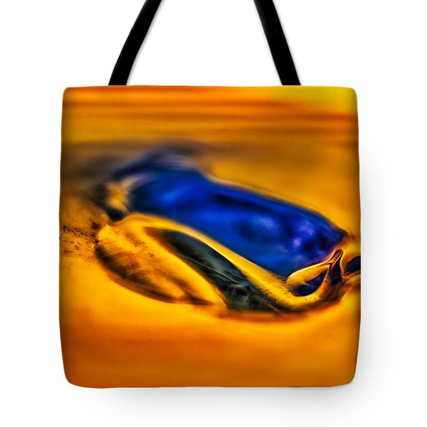 Pools Of Color Tote Bag by Omaste Witkowski