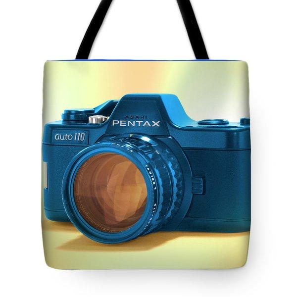 Pop Art 110 Pentax Tote Bag by Mike McGlothlen